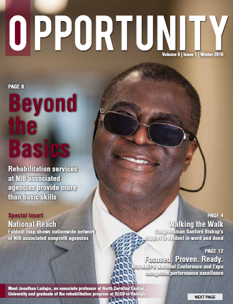 Cover image of winter 2016 Opportunity magazine