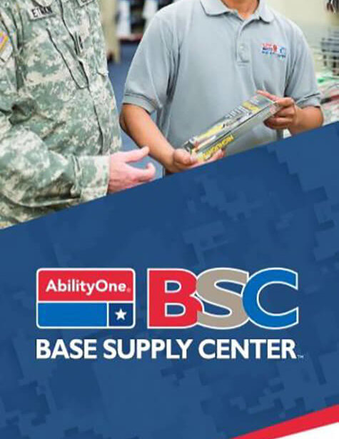 NIB Base Supply Center brochure cover