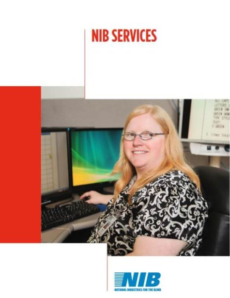 NIB Services brochure cover