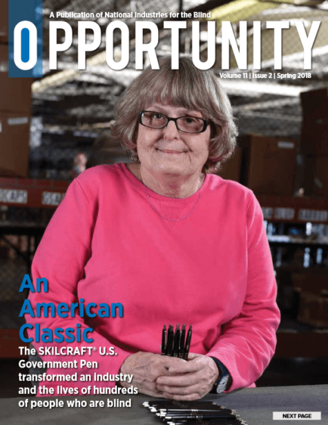 Spring 2018 Opportunity Magazine featuring An American Classic